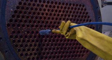 Chiller Eddy Current Testing